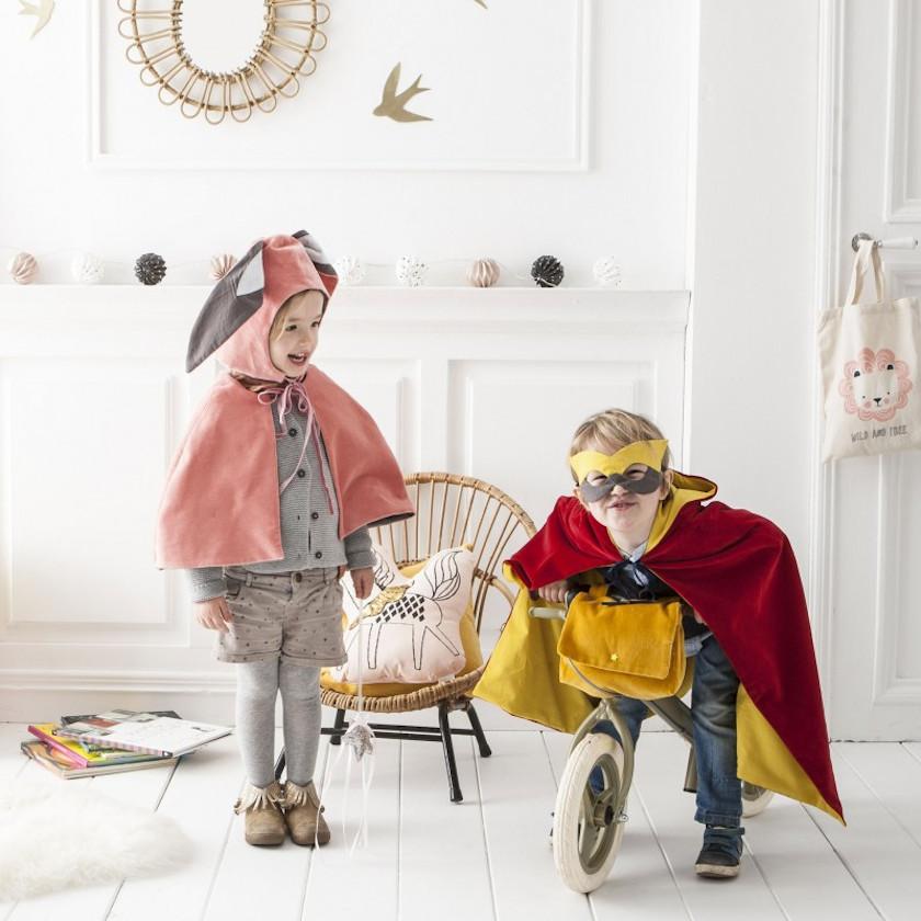 Patrons déguisement masques enfants - Aime comme Mort de rire