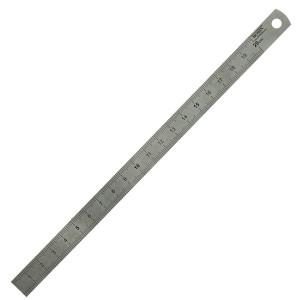réglet flexible en métal 20 cm