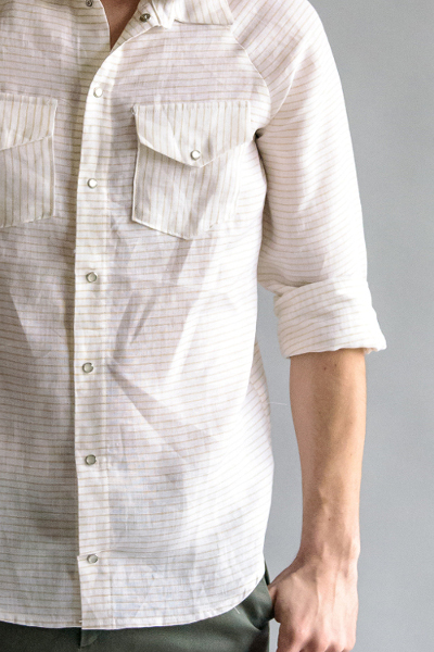 patron chemise homme - Aime comme Musc