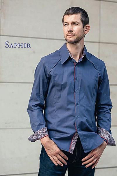 patron chemise homme - Saphir - Ivanne Soufflet