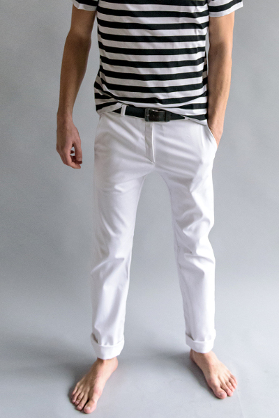 patron pantalon chino - aime comme Macadam