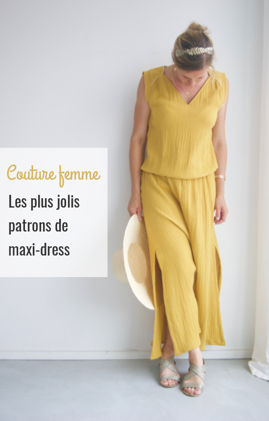 Les plus jolis patrons de maxi-dress