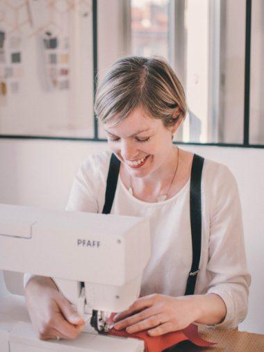Portrait Julie Maurel - CEO Louise Magazine