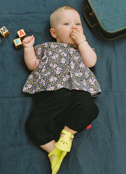 Tunique et pantalon bébé rétro - bao