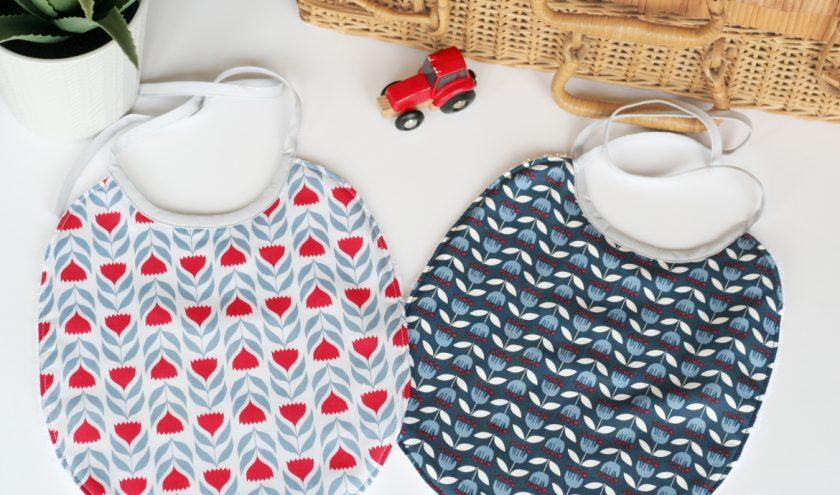 Tuto bavoir bébé avec patron gratuit : Oscar le bavoir - couture pour bébé