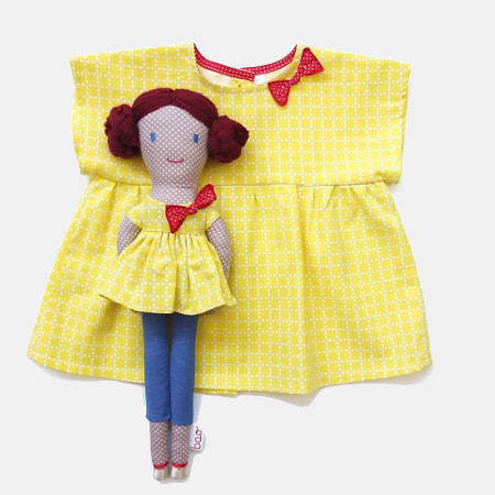 vetement de poupée retro - bao