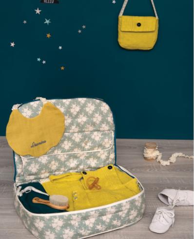 kit couture naissance - valisette - Popeline et Linon