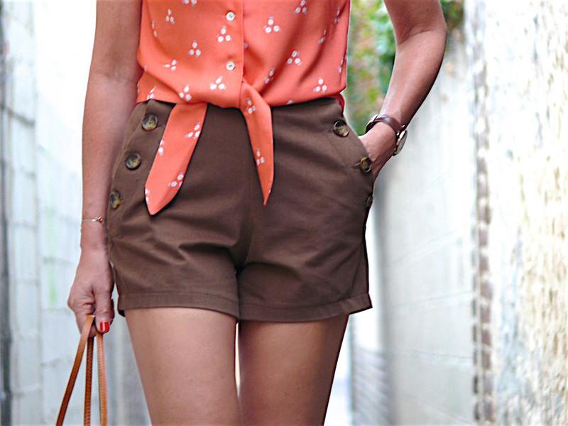 patron short femme Romero - Pauline Alice pattern