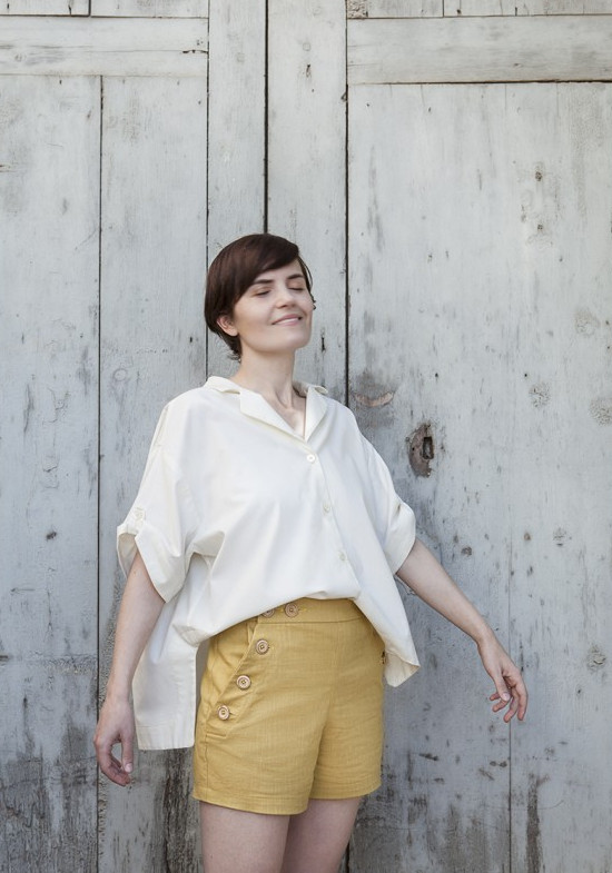 Short Romero - Patron Pauline Alice