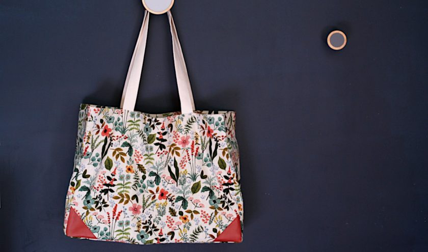 Tuto sac cabas Mila - Louise Magazine