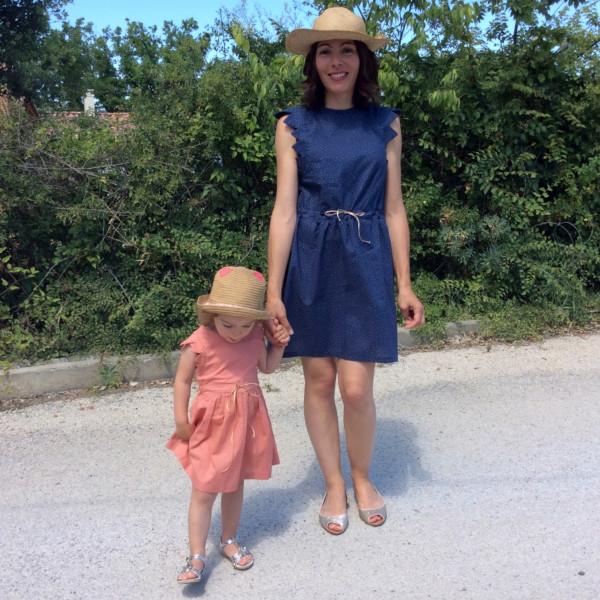 duo mère-fille - patron de la robe Adele de RDC