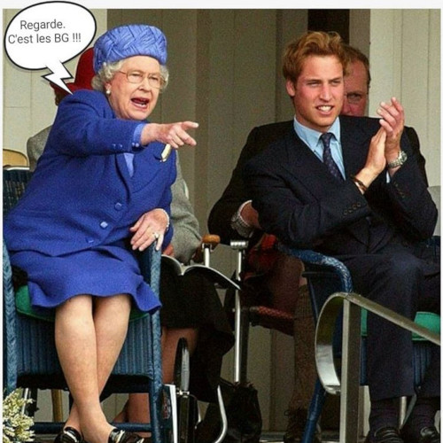 Les BG à Londres - Humour
