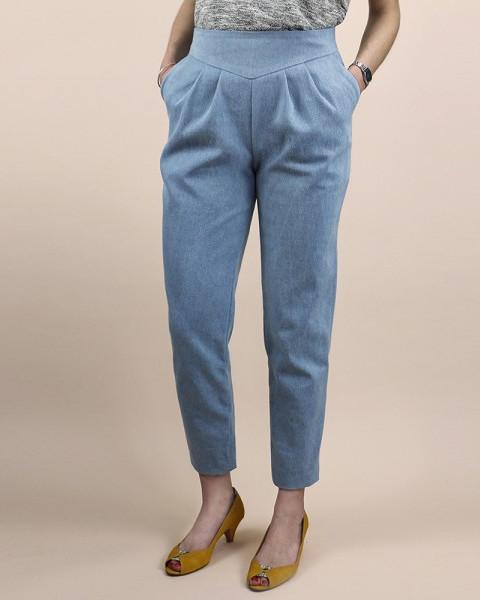 Choisir sa taille de pantalon - pantalon émilie République du Chiffon