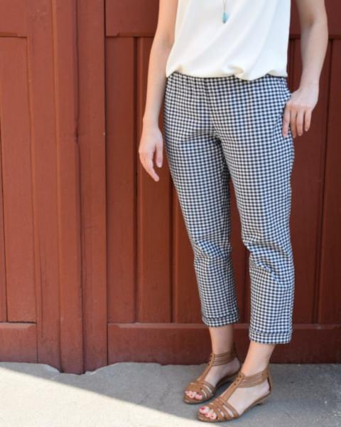 Pantalon phileas taille élastiquée