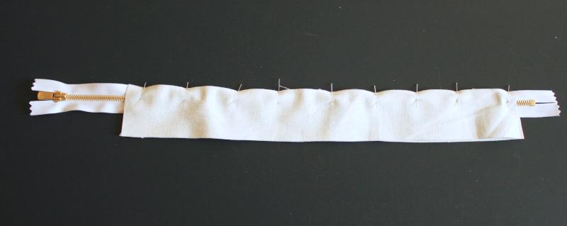 assemblage du zip