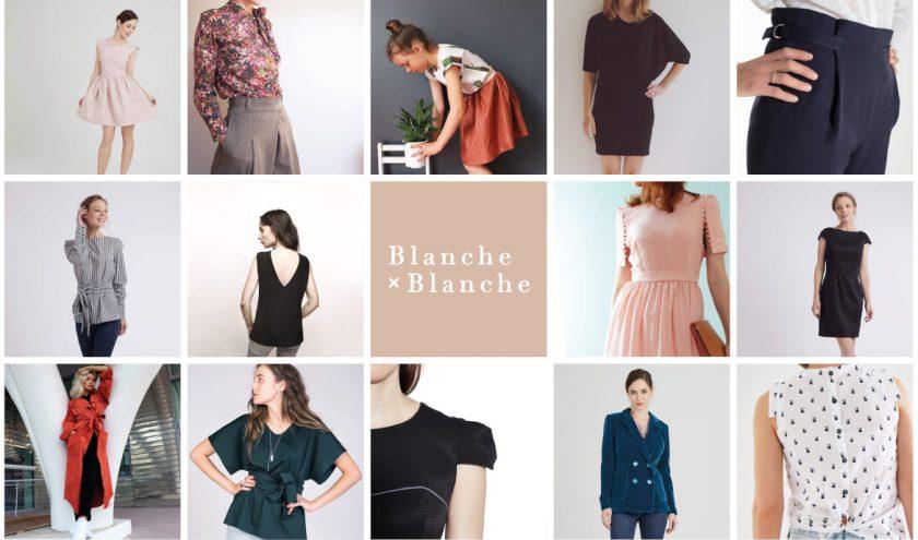 Blanche x Blanche e-boutique de patrons couture PDF