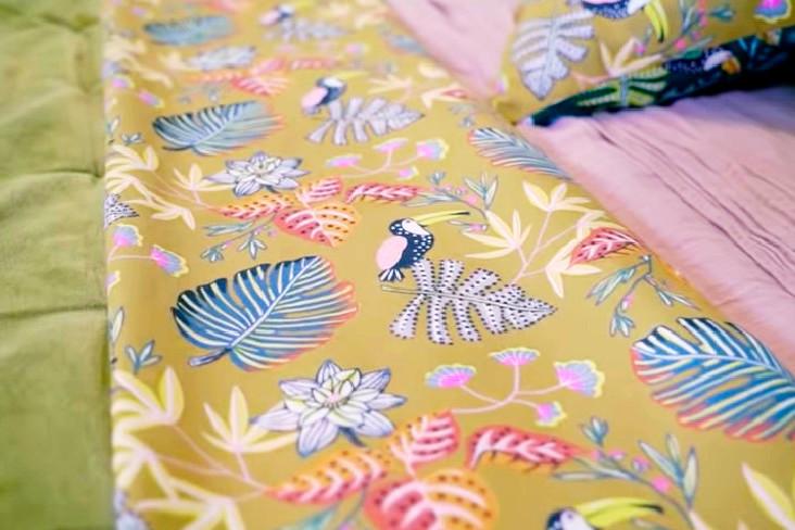 tissu imprimé Caracas - Mondial Tissus x Sophie Ferjani