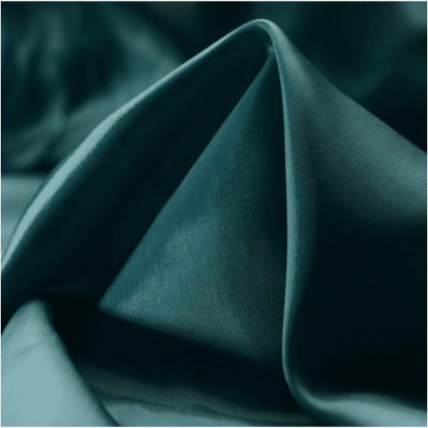 Tissu Cupro bleu pétrole pour doublure