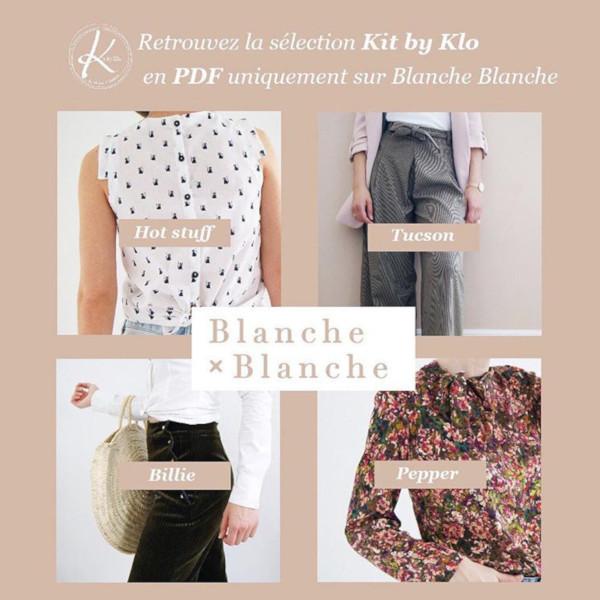 Kit by Klo - patrons PDF chez Blanche x Blanche