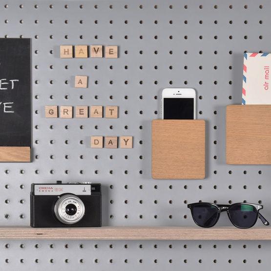 accessoires pour customiser votre pegboard block