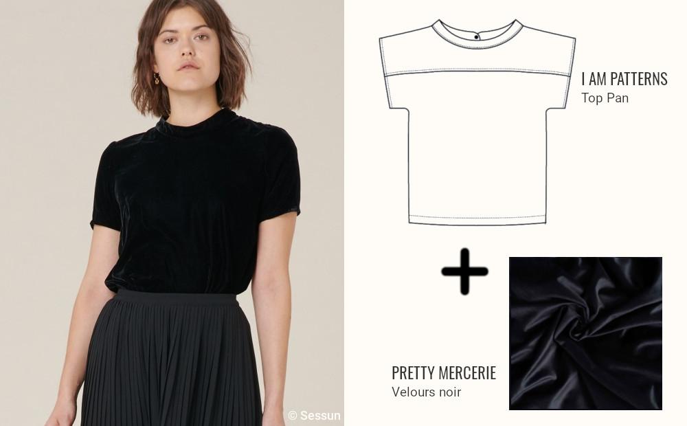 inspiration couture tshirt rasdecou