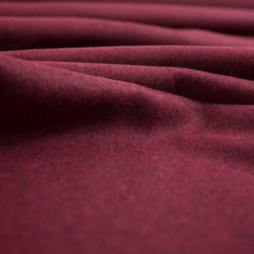 drap de laine bordeaux