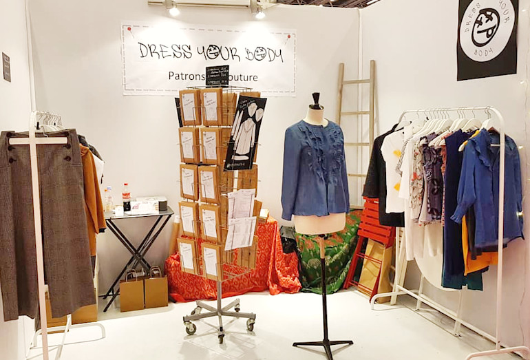 Dress Your Body au salon Création et Savoir Faire - novembre 2018