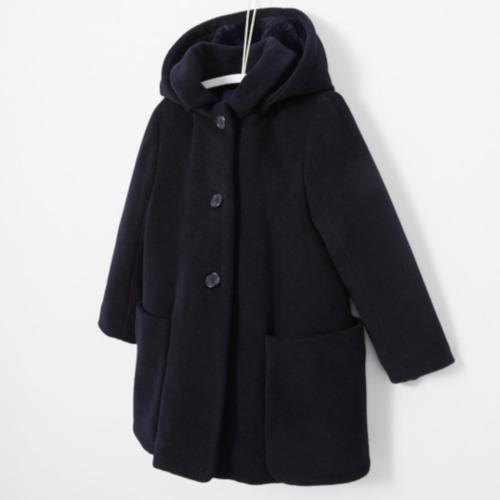 Manteau en velours de laine - Jacadi
