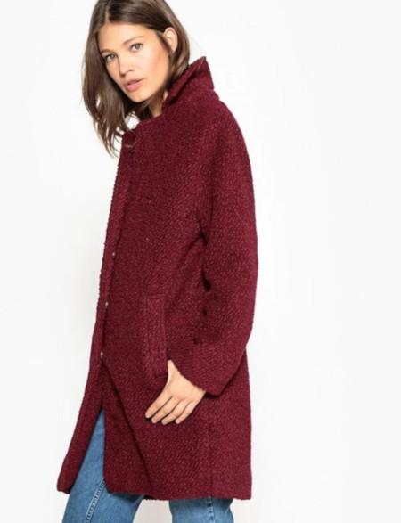 Manteau en laine bouclette - La Redoute