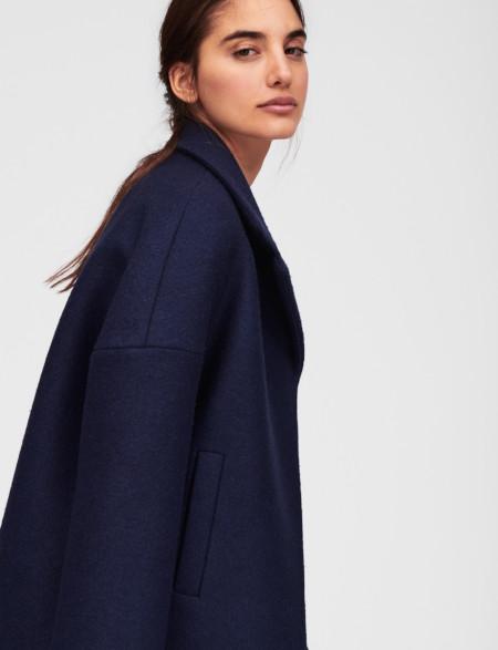 Manteau en laine bouillie - Tara Jarmon