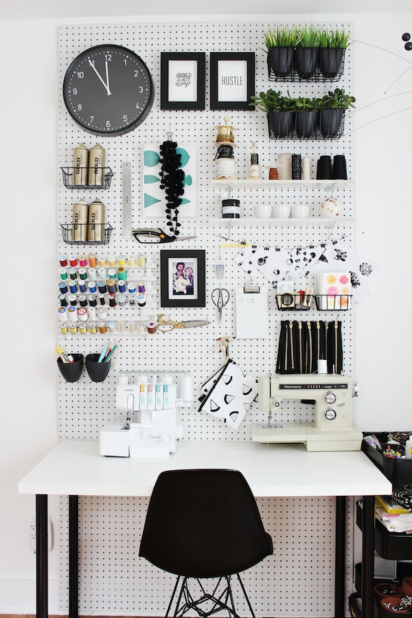 pegboard atelier couture