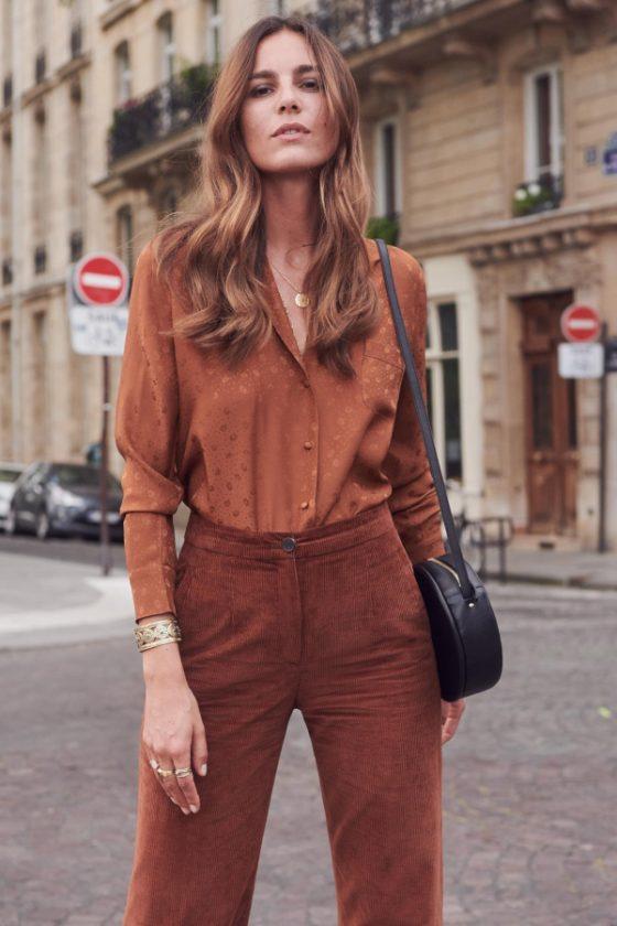 Pantalon en velours côtelé - Sezane