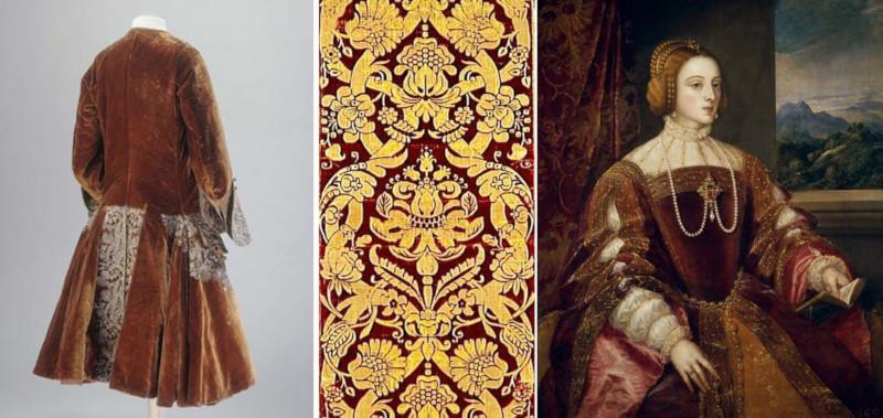 Histoire du velours - matière luxueuse