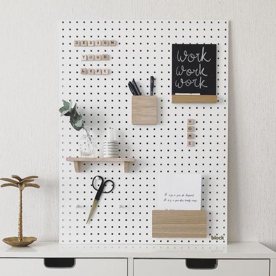 Idée cadeau - Pegboard blanc de la marque block