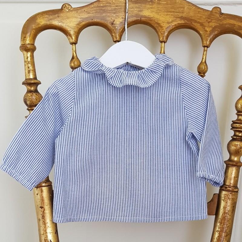 Patron blouse bébé Bruyere - Cœur d'Artichaut