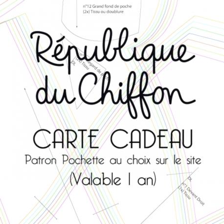 carte cadeau République du Chiffon