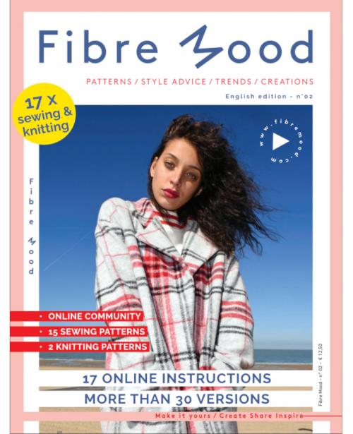 Fibre Mood - magazine couture - couverture du numéro 2