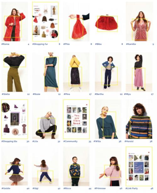 Fibre Mood - magazine couture - modèles du numéro 2