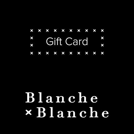 carte cadeau Blanche Blanche