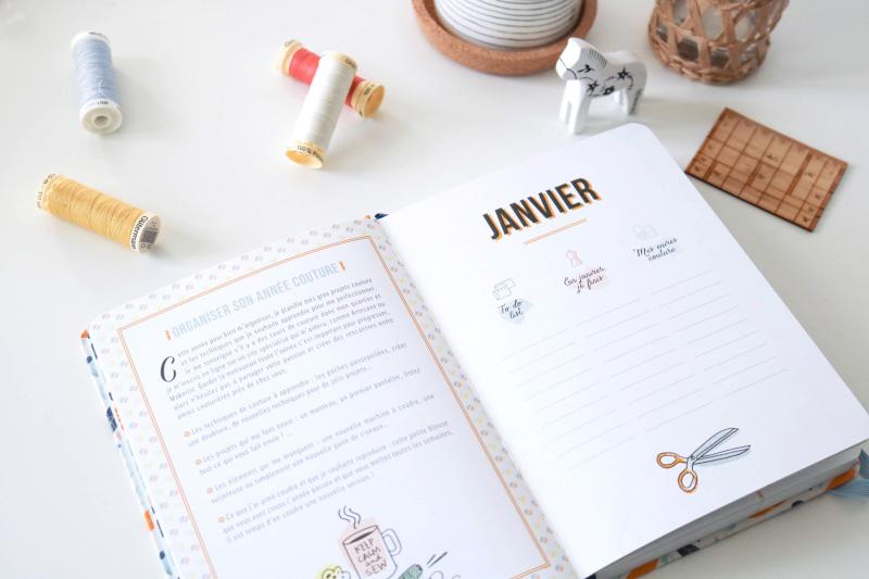 Astuces couture - Agenda couture 2019 - Atelier Vila
