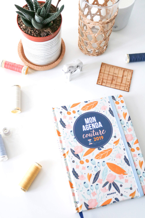 Agenda couture 2019 - Atelier Vila - Editions Mango
