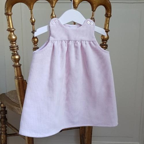 Patron robe bébé fille - Cœur d'Artichaut