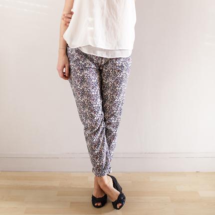 Patron pantalon taille élastiquée - Aime comme Marche à Suivre