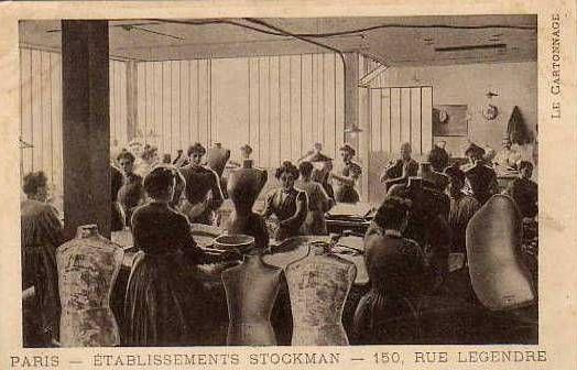 Etablisssement Stockman - bustes de couture
