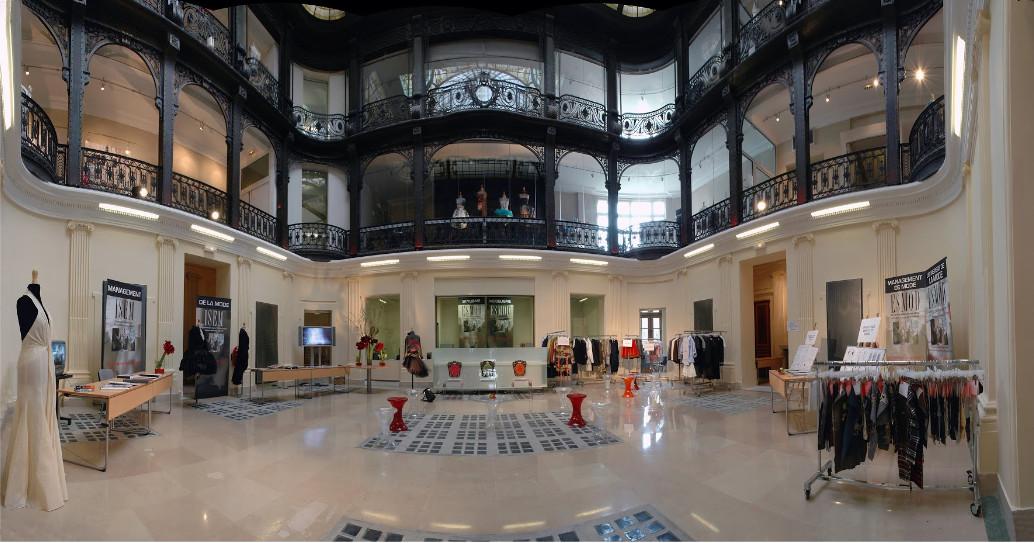 Hall principal de l'école ESMOD Paris