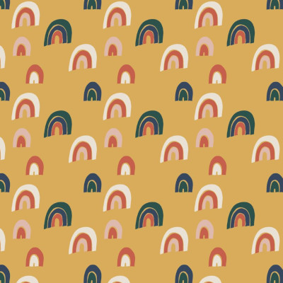 Jersey bio rainbow gold - Evlelyckan design