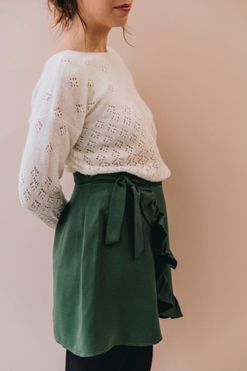 Box couture jupe Prelude verte - Ma Petite Garde Robe