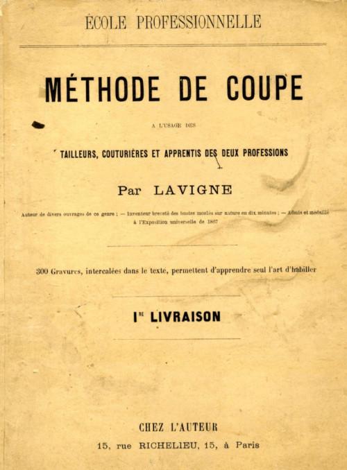 Méthode de coupe à plat - Alexis Lavigne