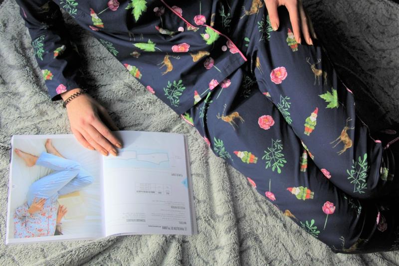 Pyjama février Charlotte Auzou - Poppysew