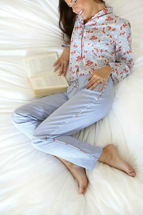 patron pyjama Février - Charlotte Auzou - Ma garde robe à coudre pour toute l'année